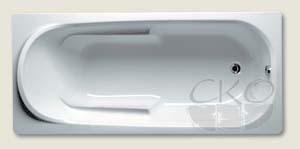Riho() Ванна COLUMBIA акриловая прямоугольная 175x80x48, 5/255л.