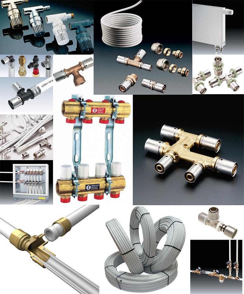 Металлопластиковые трубы и фитинги в магазине СКО