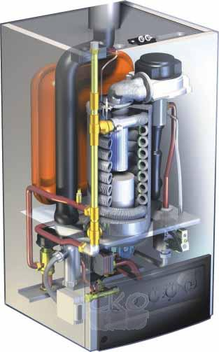 Настенный газовый конденсационный котел CGB/CGB-K (3,6 - 98,8 кВт) .